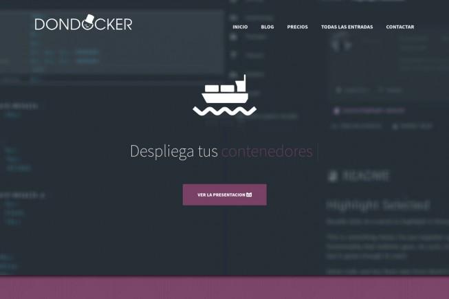 Nueva web Dondocker